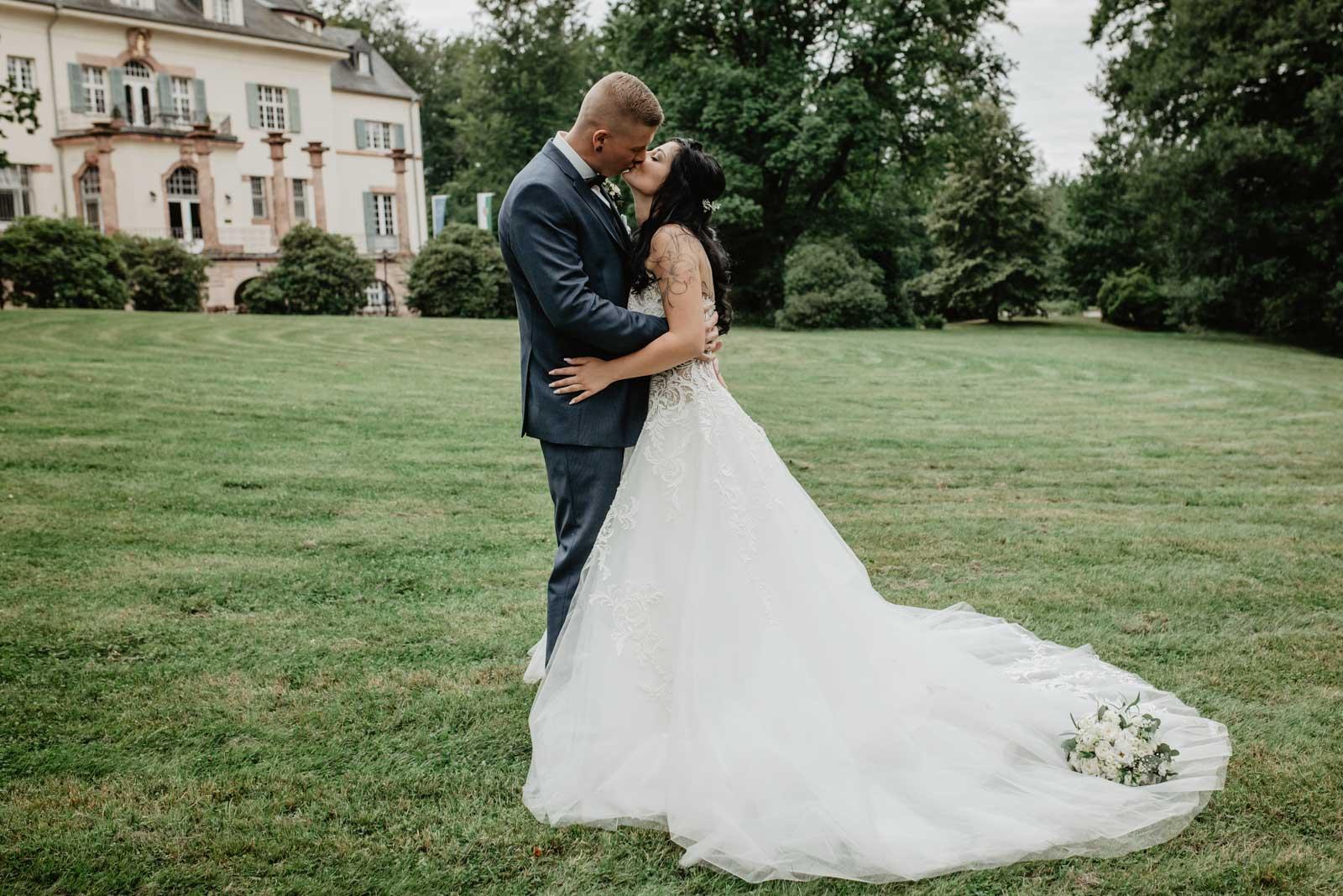 Hochzeitsfotograf Leipzig - Hochzeit im Gästehaus Wolfsbrunn